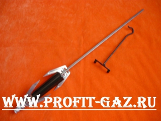 Вертел гриля духовки Гефест-3100, GEFEST-3200, (длинна - 420мм)